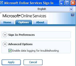 bpos enable data logging for troubleshooting