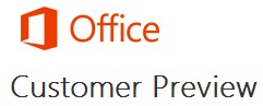 Office 365 customer preview